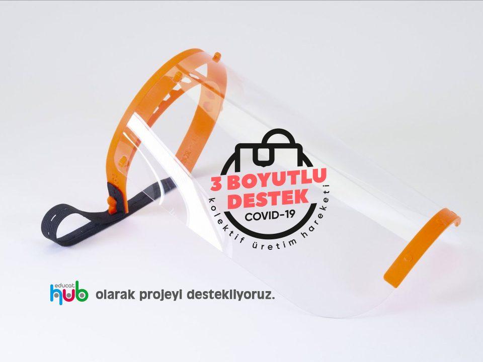 Sağlıkçılar için 3 Boyutlu maske üretim desteği