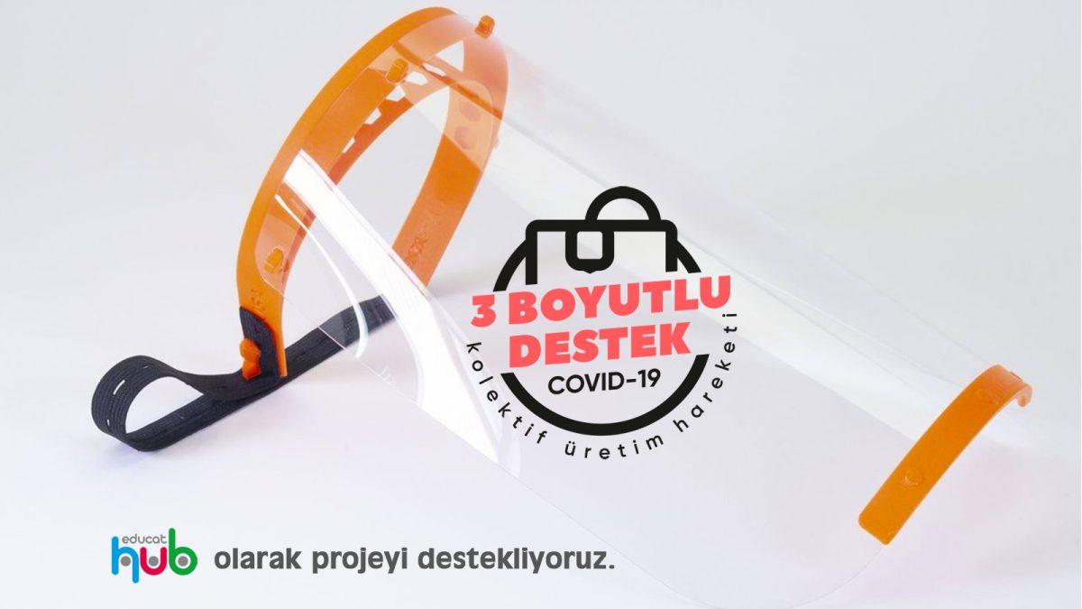Sağlıkçılar için 3 Boyutlu maske üretim desteği Online Bilişim Robotik Kodlama Ders Müfredatı ve Uzaktan Eğitimi