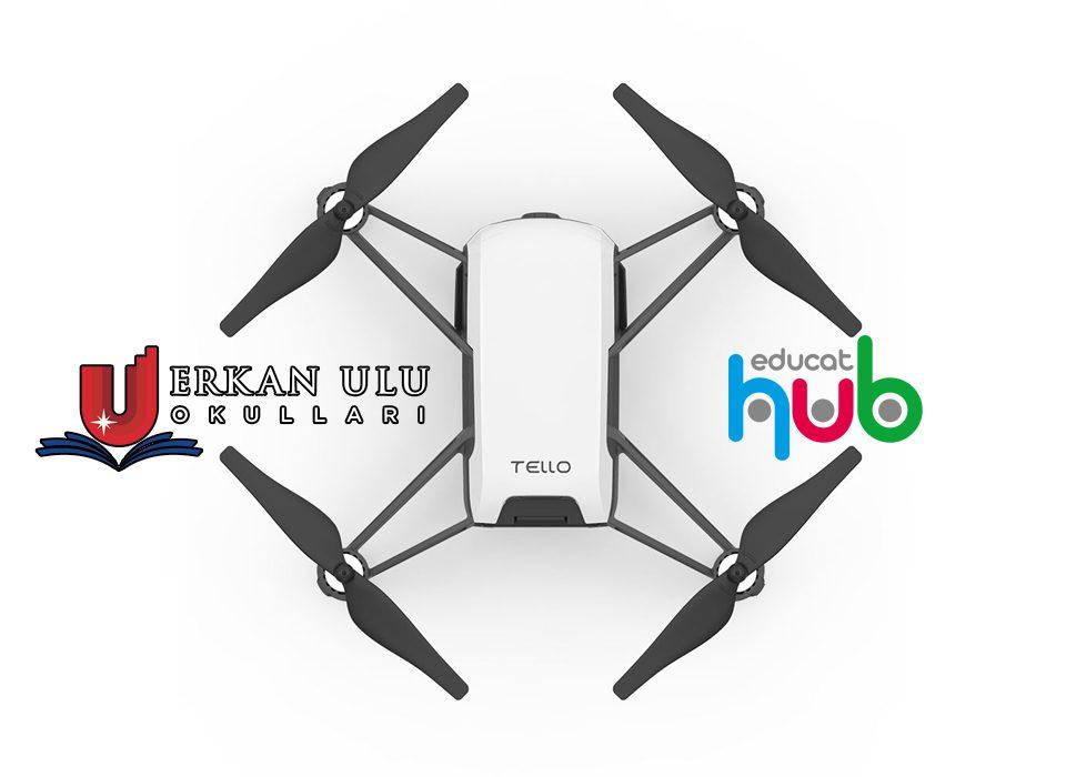 Drone Kodlama Dersi Müfredatı Erkan Ulu Okulları ve EducatHUB