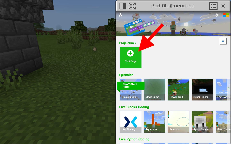 Minecraft Eğitim Sürümü Online Bilişim Robotik Kodlama Ders Müfredatı ve Uzaktan Eğitimi