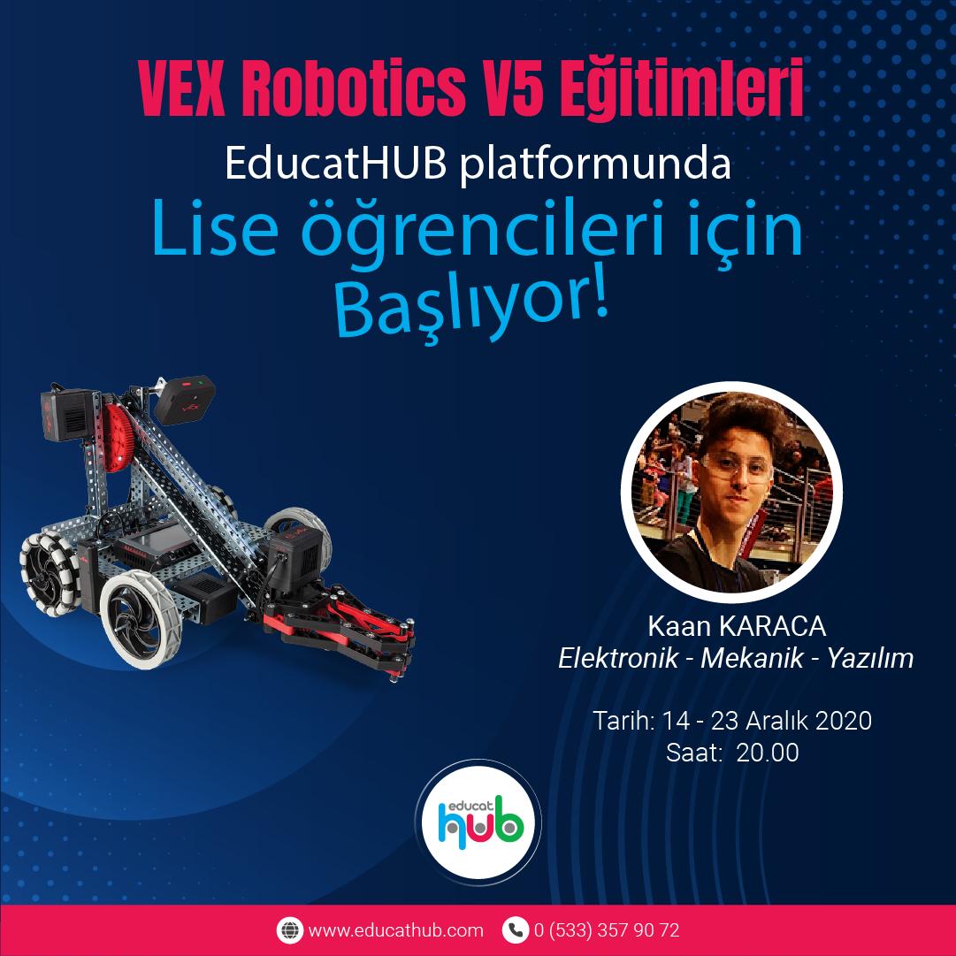 VEX Robotics V5 Online Robotik Kodlama Eğitimi